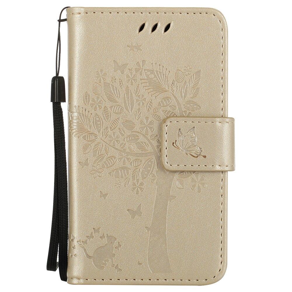 最も安い 532 高級財布フリップ革スタンドカバー漫画猫キャパ 635