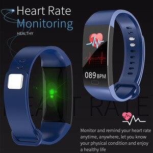 Image 3 - جديد RD11 الذكية الفرقة الرياضة جهاز تعقب للياقة البدنية سوار بلوتوث رصد معدل ضربات القلب IP67 مقاوم للماء الذكية أكل PK Y5 R11 S3