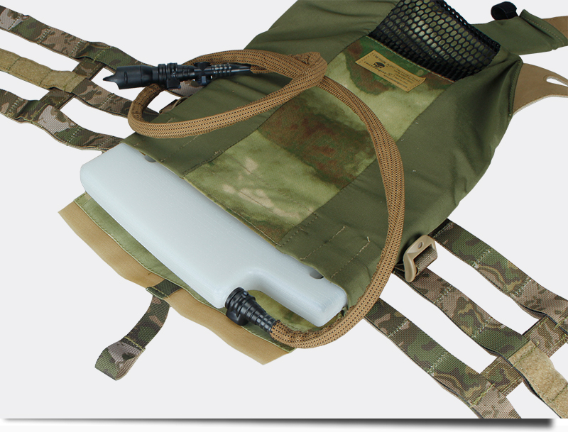 Image 5 - TMC 1.5L Plate Cut Hydrogen Storage Hydration Case Water Panel For molle combat assault Plate Carrier JPC CPC AVS tactical vestpanel casepanel carrierpanel plate -