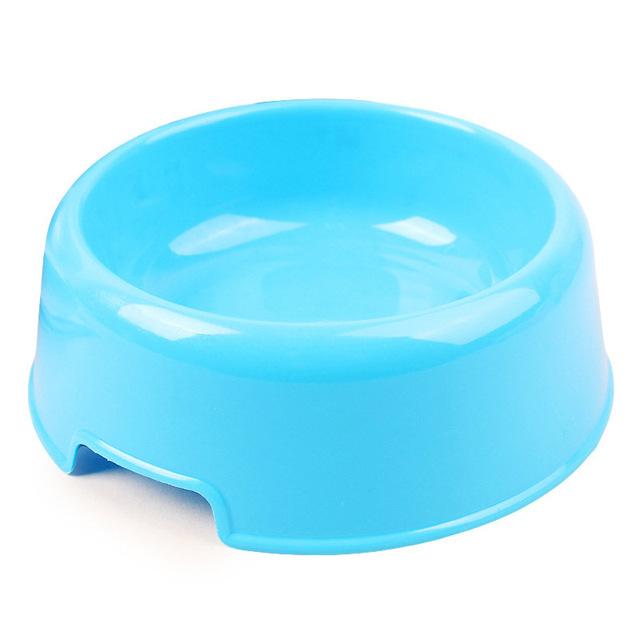 Classic Plastic Multicolor Dog Bowls