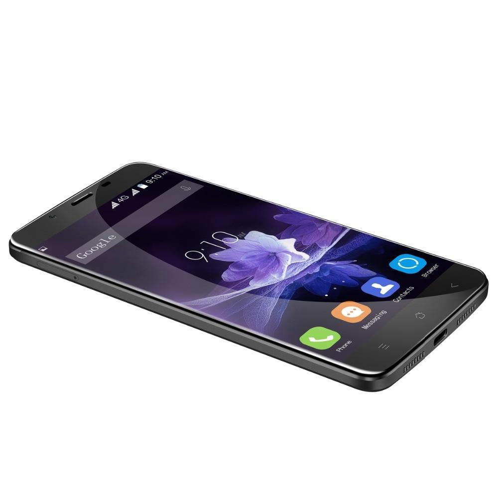 Blackview P2 4G Smartphone Android 6.0 MTK6750T Octa Core 5.5'' FHD 4GB+64GB 6000mAh Battery 8MP+13MP Fingerprint Mobile Phone