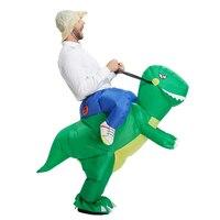 TOLOCO דינוזאור מתנפח תלבושות למבוגרים תחפושת ליל כל הקדושים disfraces תחפושת לילדים גברים בעלי החיים בד מאוורר מופעל