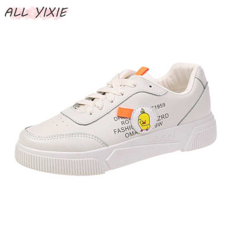 ALL YIXIE 2019 Summer New Wild Simple Casual Fashion Sports Shoes Women Spring Breathable Flat Ladies Student