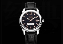40mm Sangdo Luxury watches Automatic Self-Wind movement Sapphire Crystal Black dial High quality Auto Date Men's watch 58A