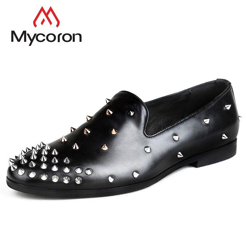 Hommes Confortable Noir Cuir Mycoron Chaussures Printemps Frais automne En Respirant Hombre Casual Bottes Confort Adulte Calzado 2018 HvqRdwFv