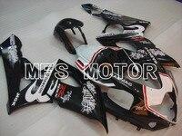 For Suzuki GSXR 1000 K5 2005 2006 Injection ABS Fairing Kits GSXR1000 K5 05 06 Beacon Black/White