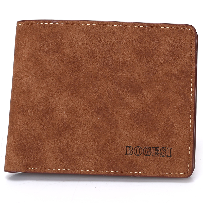 Fashion Design New 2018 Small Mini Mens Wallet Luxury Business Card Holder Man Coin Purse Multifunction Brand Money Bag