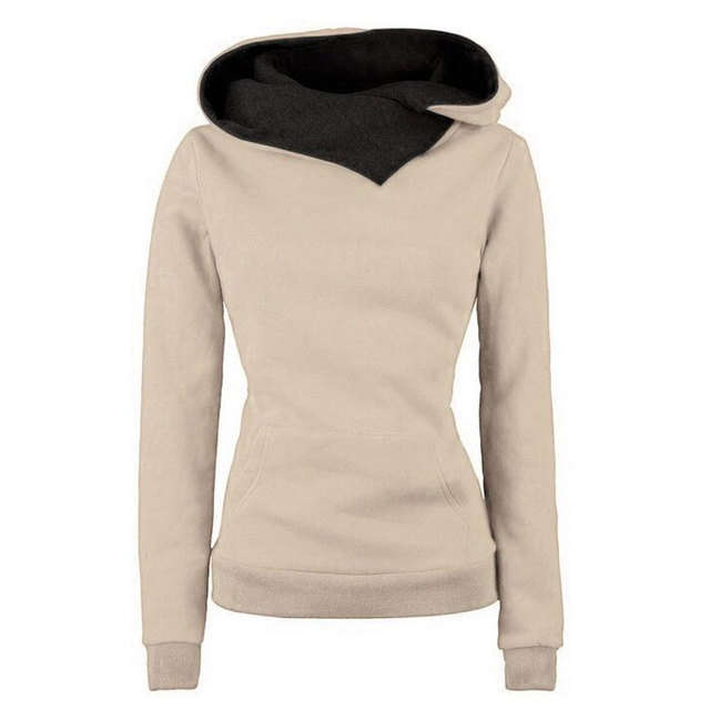 Long Sleeve Sweatshirts Casual Womens Sportwear Hooded Hoodies