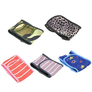 Print Pet Dog Sanitary Pants Underwear Cotton Physiological Short Diaper Female Cute Small Puppy Dog Doggy S-XL Washable Panties image