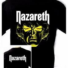 3df3e25cecbec7 Create A Shirt Nazareth Hot Tracks 73 76 Black New T-Shirt Rock T