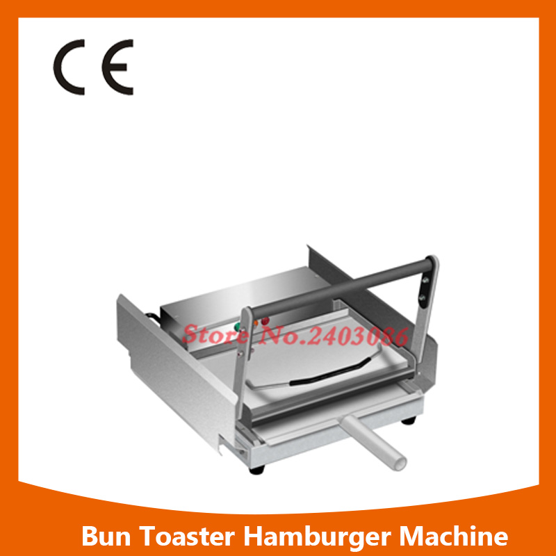 Fast Food Restaurant Kitchen Using Heavy Duty Commercial Hamburger Machine,eavy Duty Bread Machine free ship new premium fast food equipment commercial package double grilled hamburger machine price