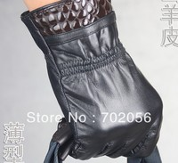 Fashion Mens Real Leather Gloves Leather GLOVE Gift Accessory Wholesale From Factory 12pair Lot 3166