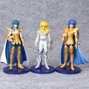 Image 3 - 5pcs/set 15 cm Saint Seiya Pvc Action Figure Toy Japanese Anime Saint Seiya Display Model Toys Children Birthday Jouet Gift
