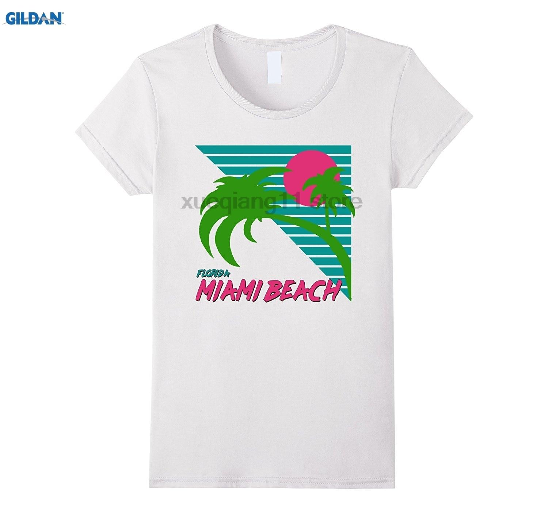 Gildan Miami Beach Florida Souvenirs T Shirt