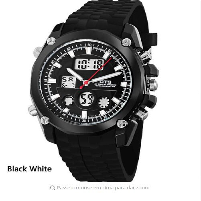 2018 new products recommended OTS8017 Fashion Sports Youth electronic waterproof LED Watch