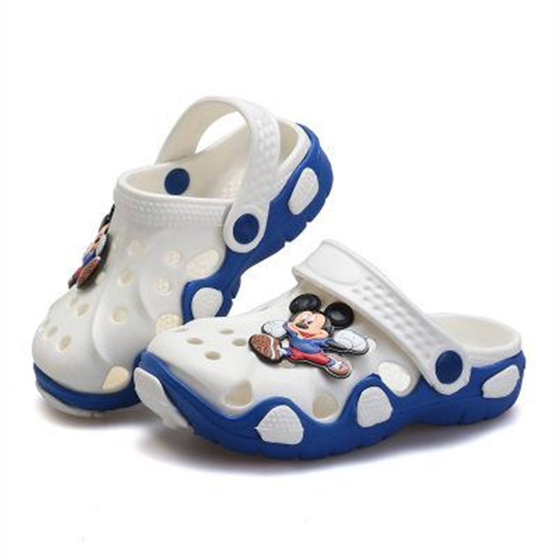 2016 New Cartoon Baby Beach Slipper Children Sandals Wholeas EVA Anti-slip Girls Boys Slippers Summer Garden Shoes Child Slipper