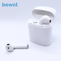 Bewot TWS I7S Bluetooth Earphone Twins Headphones Phone Sport Headset In Ear Buds Wireless Stereo Earphones