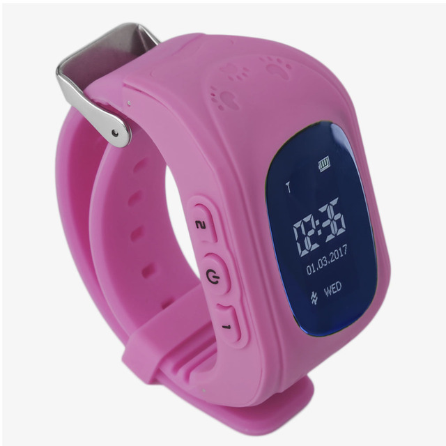 Professional Q50 Children Kids Smart Watch Tracker Locator Anti-Lost Waterproof