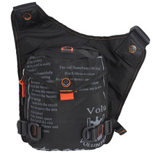 High Quality Men Nylon/Waterproof Oxford Trend Ride Leg Bag Drop Fanny Waist Pack Hip Motorcycle Riding Messenger Shoulder Bags