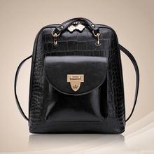 Новая сумка 102616 Горячая модная новинка аллигатора рюкзак дважды сумка