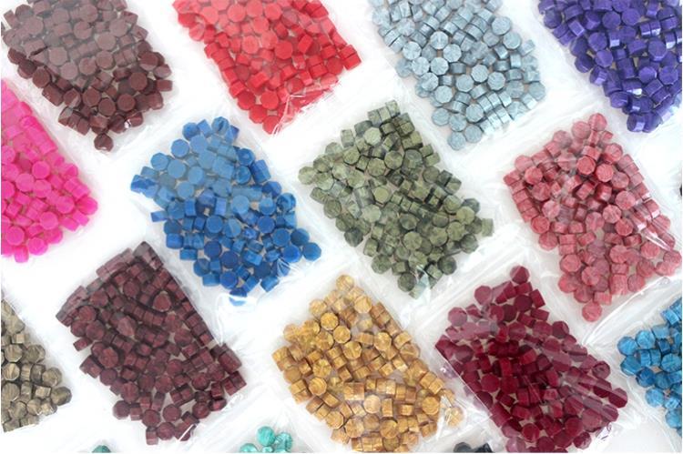бесплатная доставка 100 шт. многоцветный марки уплотнения воск гранулы в объемных бисером/полосы принадлежности документов штамп сургучной печати таблетка таблетки