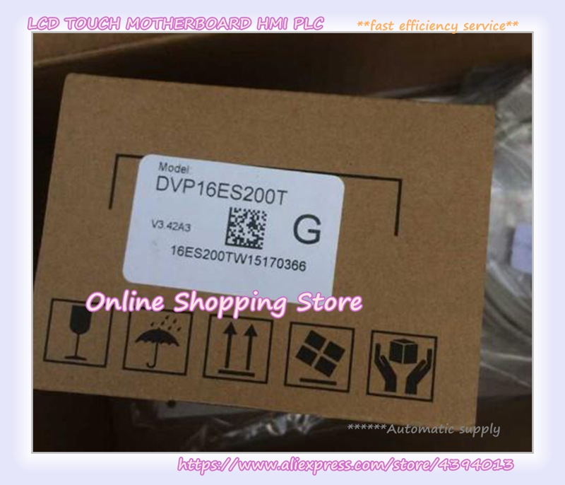 DVP DVP16ES200T ES2 series 100-240VAC 8DI 8DO PLC New in box in stock qsc6055 new in stock