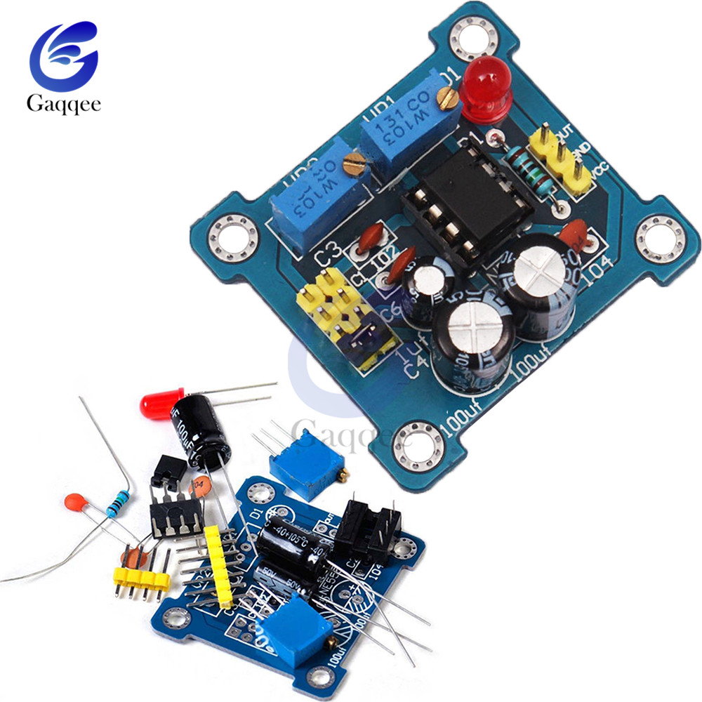 5PCS Duty Cycle and Frequency Adjustable Module  Kit Pulse Generator NE555 new