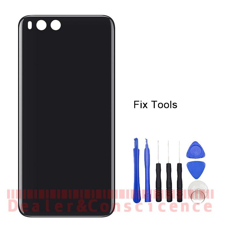 1 pcs Pour Xiao mi mi note 3 Note3 retour Couvercle De La batterie En Verre Logement Arrière Porte Cas + Adhésif + outils