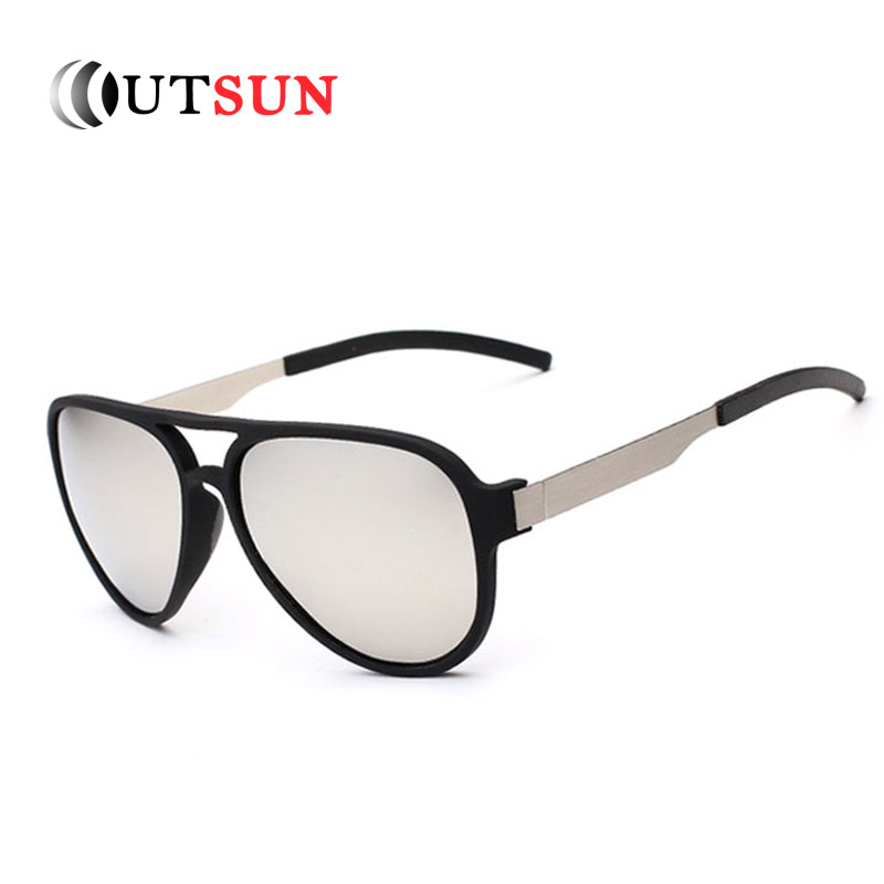 OUTSUN 2017 Leisure font b Polarized b font Sunglasses Men Women Brand Designer Polaroid Driving font