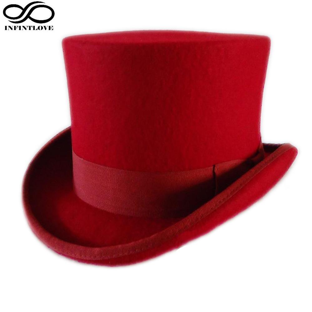 LUCKYLIANJI 13,5cm Culoare Roșie Steampunk Victorian Formal Top - Accesorii pentru haine