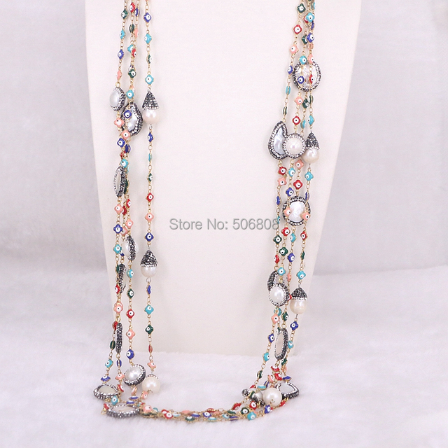 inch chains necklace item bead steel from parts jewelry necklaces chain wholesale fashion lot stainless accessories in ball beaded