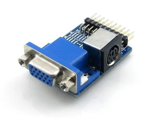 5pcs/lot VGA PS2 Board Accessory Test Module For VGA + PS2 + Control Connector Interfaces