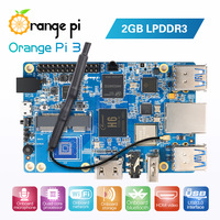 Orange Pi 3 H6 2GB LPDDR3 AP6256 Bluetooth5.0 4*USB3.0 Support Android 7.0, Ubuntu, Debian