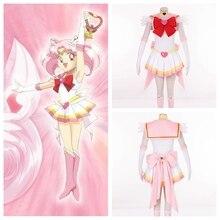 SuperS Сейлор Мун аниме косплей Чиби Сейлор mooncosplay хэллоуин женщины костюмы