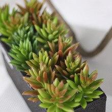 10pcs Snowflake Lotus Plants Garden Succulent Grass Desert Artificial Landscape Arrangement Decor Cute Decoration
