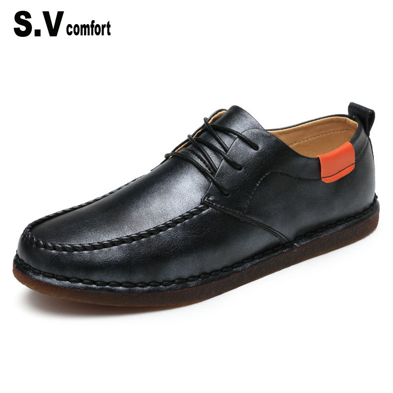 Fashion Urban Style Solid Leather Casual Shoes For Men Waterproof Platform Lace Up Shoes Wedding Shoes Scarpe Uomo Di Marca