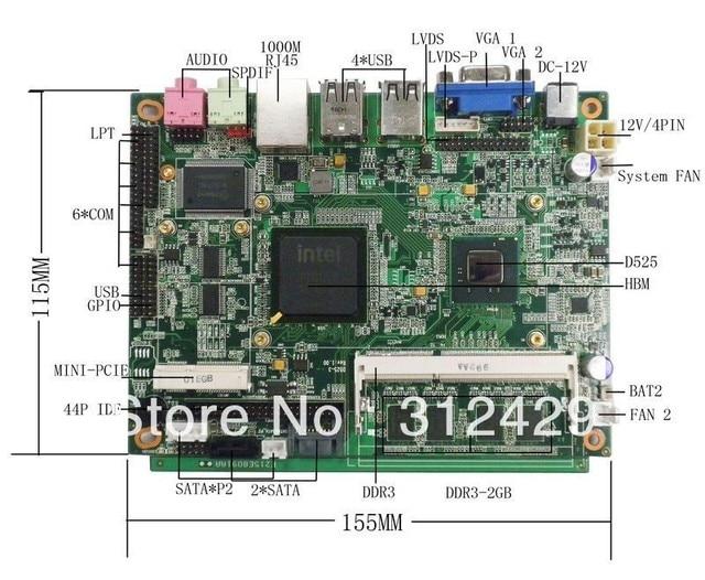 Atom 3.5 Motherboard ITX-N475