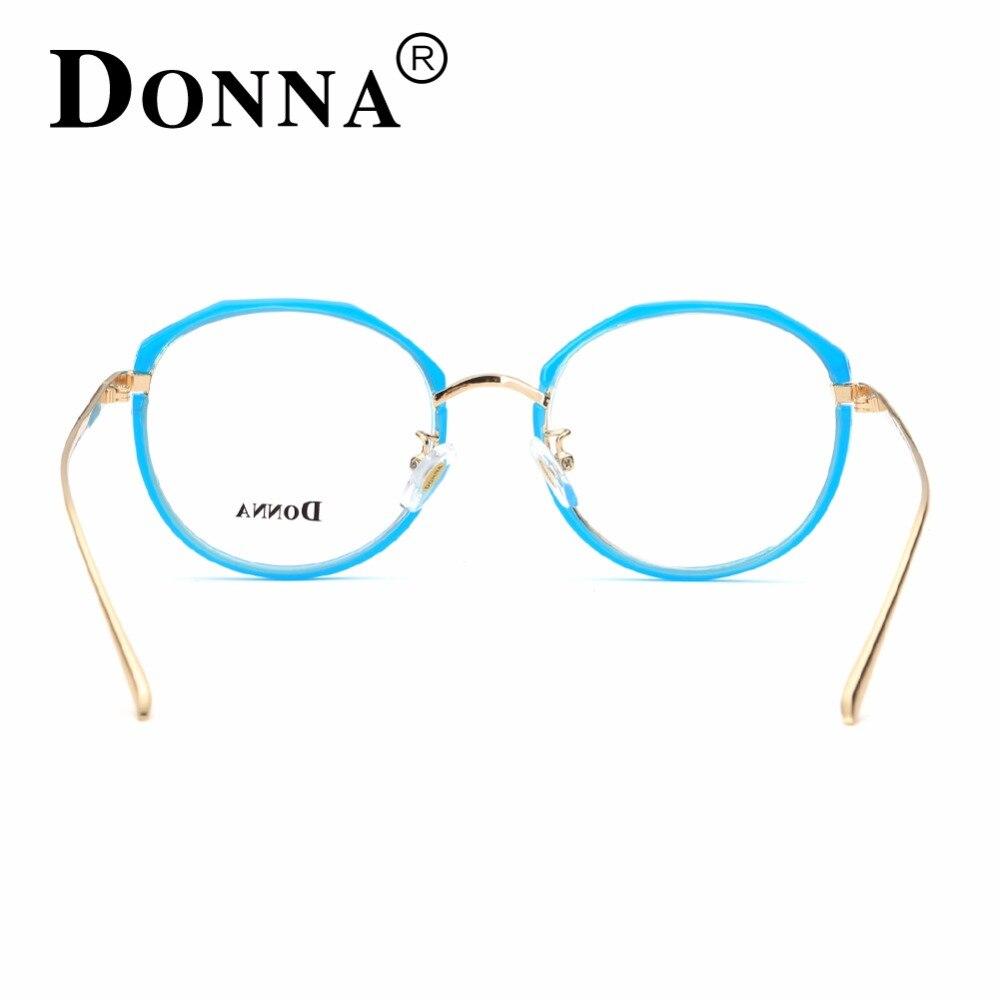 Donna mujeres moda óptica marcos de lectura gafas marco muchacha ...