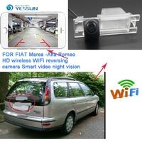 WIFI Rear View Camera For Alfa Romeo 156 159 166 147 2008 2016 CCD Night Vision Reverse Camera Backup Parking wireless Camera