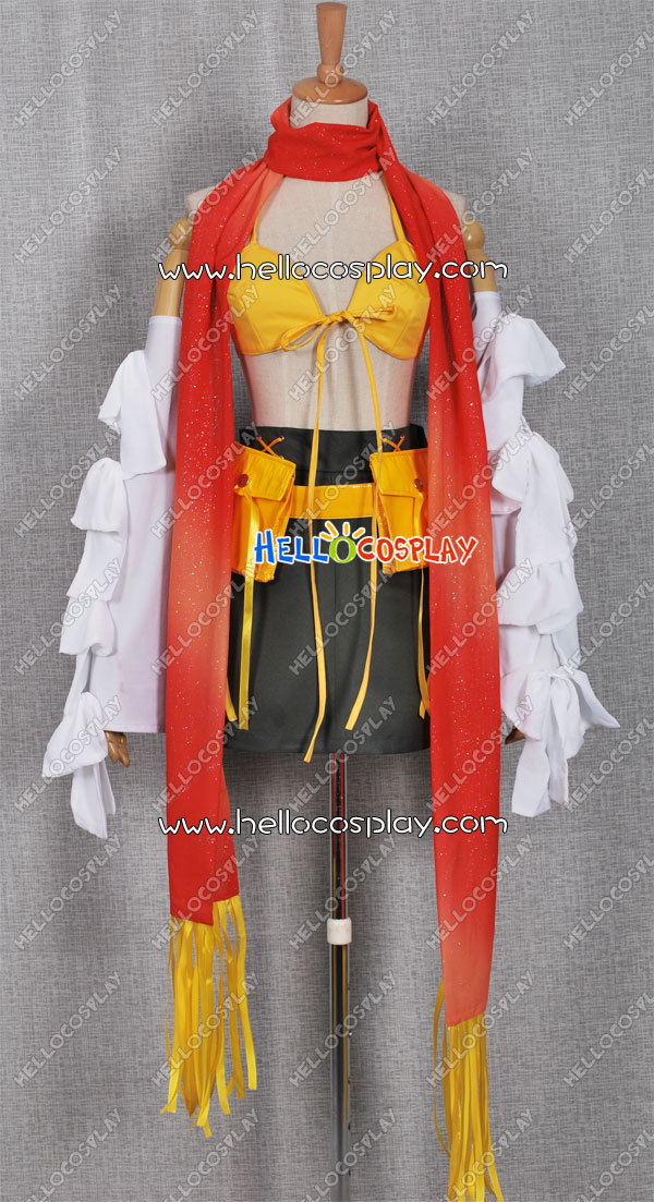 Final Fantasy XII Rikku Cosplay Costume H008