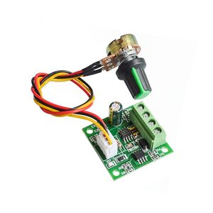 1.8V 3/5/6/12 V 2A PWM DC Motor Speed Control /w Potentiometer Switch