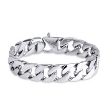 Titanium Steel Jewelry Bracelet Fashion Anti-radiation Mens