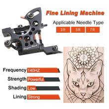 New Style Professional Iron Tattoo Machine Wrap Coils Lining Shading Coloring Tattoo Guns Supplies