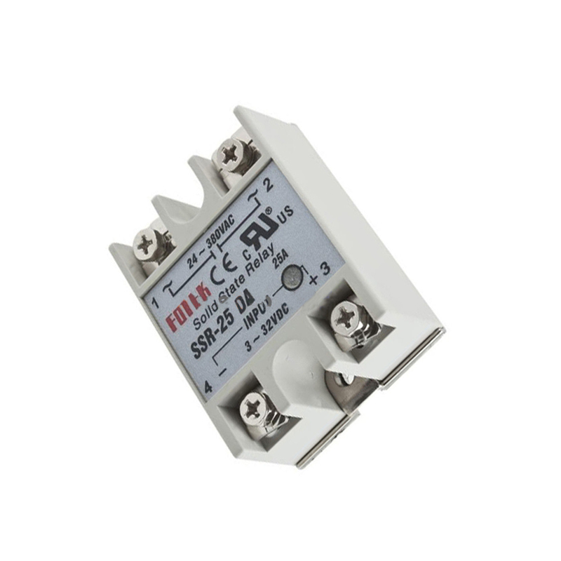 Output 24V-380V 25A SSR-25 DA Solid State Relay For PID Temperature Controller solid state relay ssr 120da clear cover for temperature contoller