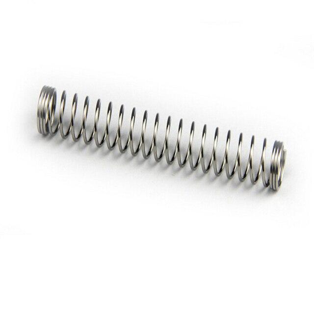 100 PCS Atacado Personalizado Pequena Caneta Esferográfica Molas de Compressão de Aço Inoxidável Com Preço Baixo