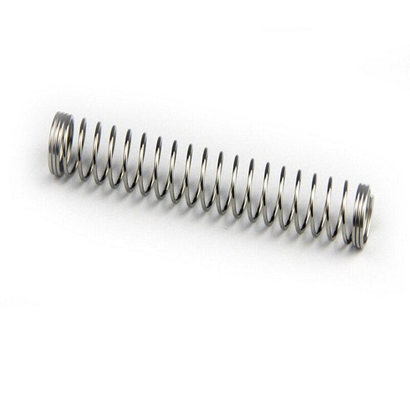 100 шт. Оптовая Настроить малого Нержавеющаясталь шариковая ручка пружины сжатия с низкая цена