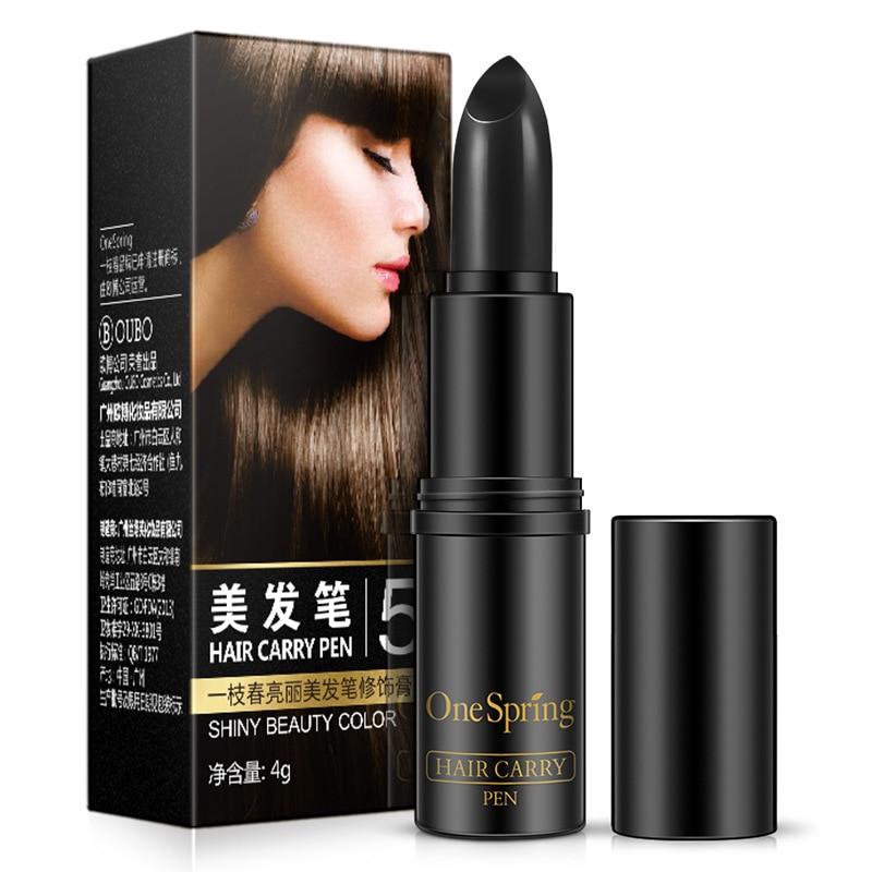 OneSpring Temporary Hair Dye Styling Hair Color Stick Hair Chalk Paint Pen Cream Hair Makeup