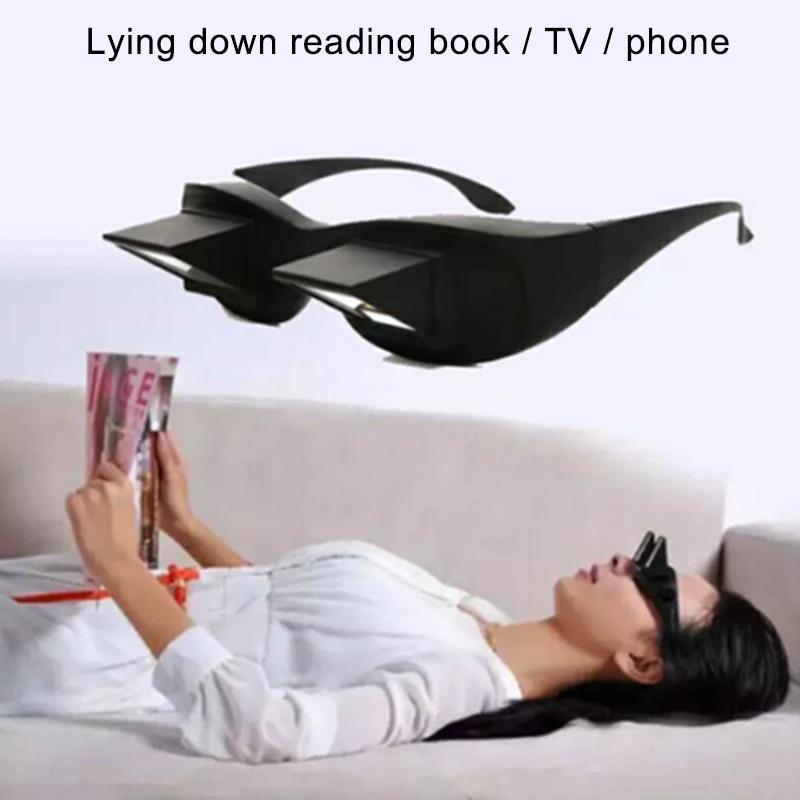 Psacss 2019 NEW Lazy Man Glasses Men Women Children Comfortable Reading Glass Lenses Lying Down View Funny Refractive Glasses