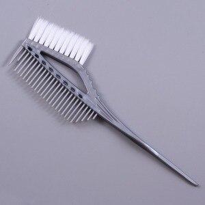 Image 5 - Pro Black Plastic Haarverf Kleuren Borstels Kam Barber Salon Tint Hairdressing Styling Tools Haar Kleur Diy Kammen Met Borstel