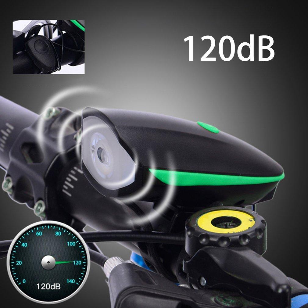 Супер яркий велосипед Рог свет фар Водонепроницаемый ночной безопасности Электрический езда на велосипеде Рог Белл велосипед аксессуары н... ...